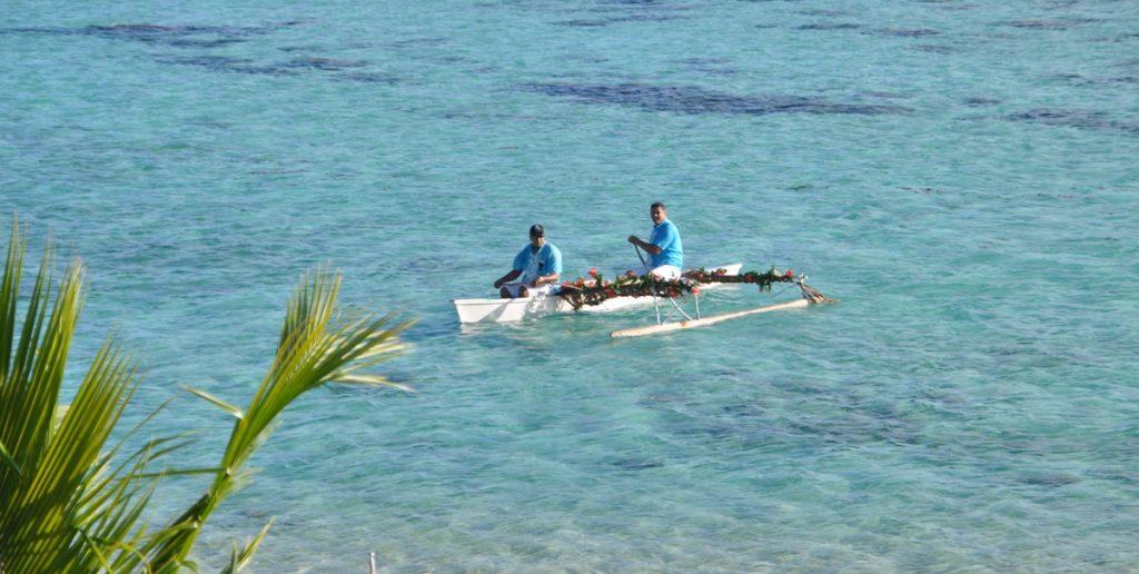 Imbarcazione tipica a Moorea