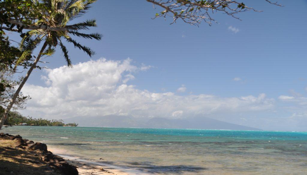 Spiaggia a Moorea