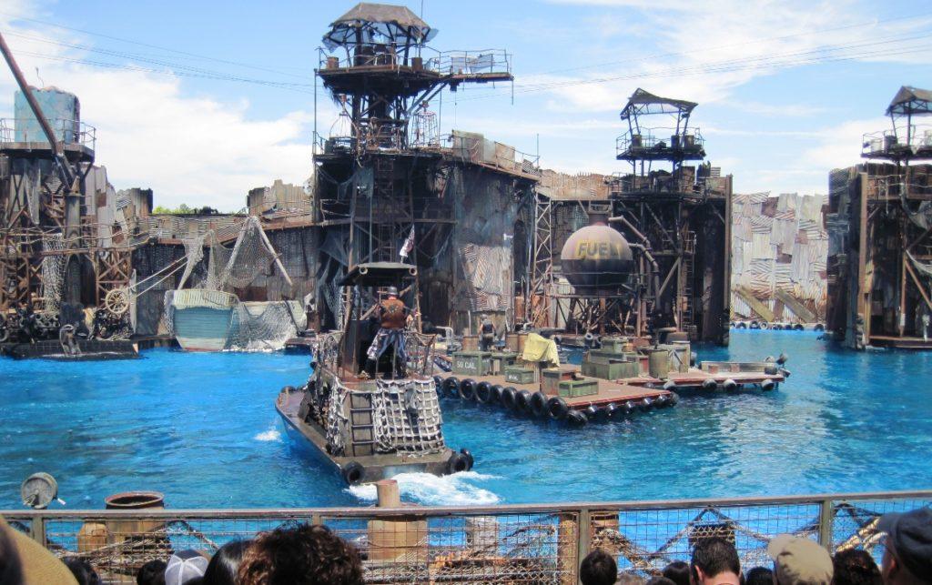 Lo spettacolo di Waterworld