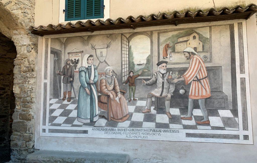 Murale a Dolceacqua