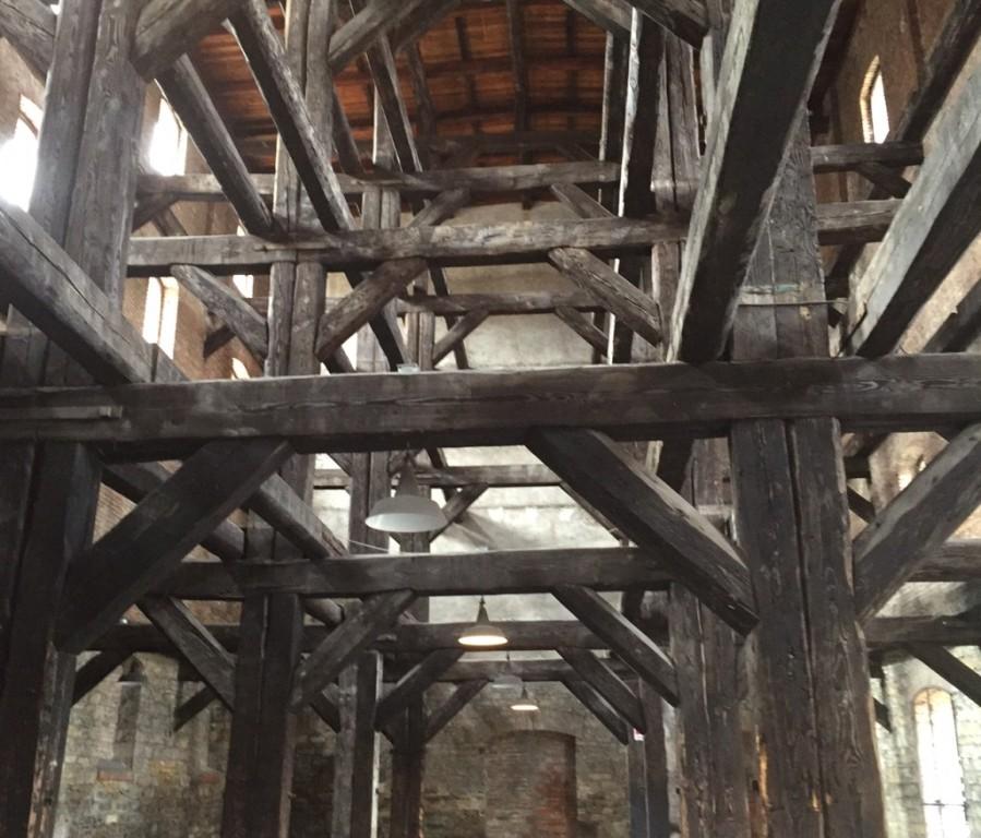 Sala delle croci nella Risiera di San Sabba
