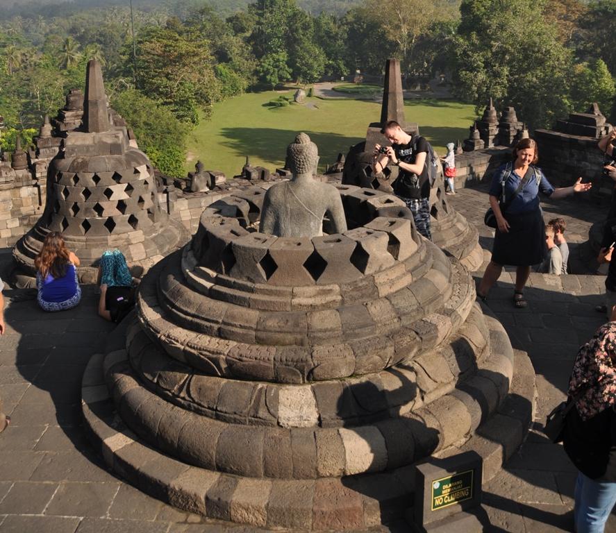 Il tempio di Borobudur