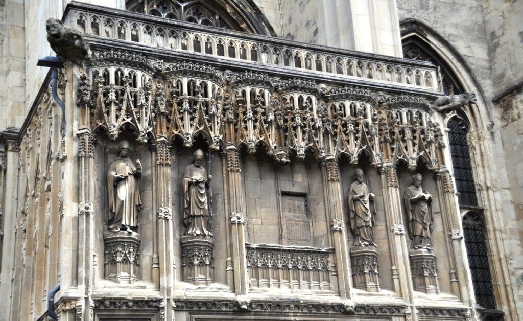 Esterno della Cattedrale di Canterbury