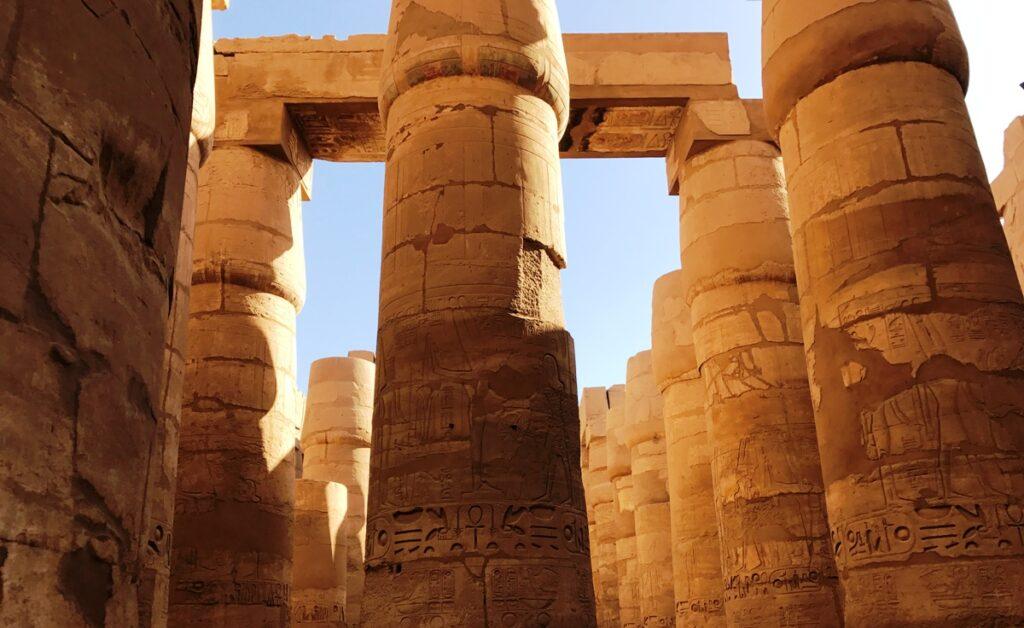 Colonne al Tempio di Karnak