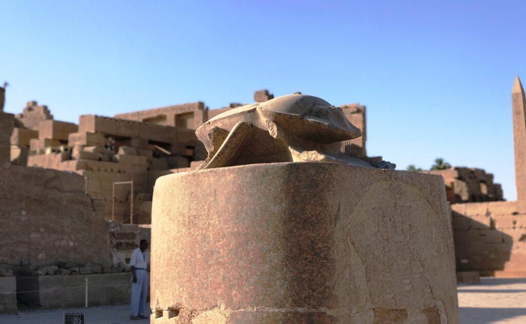 Scarabeo al Tempio di Karnak