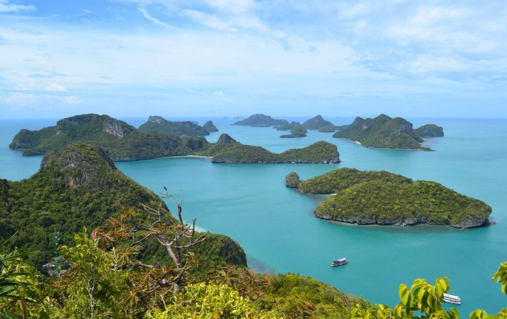 Isolotti al Parco marino di Ang Thong