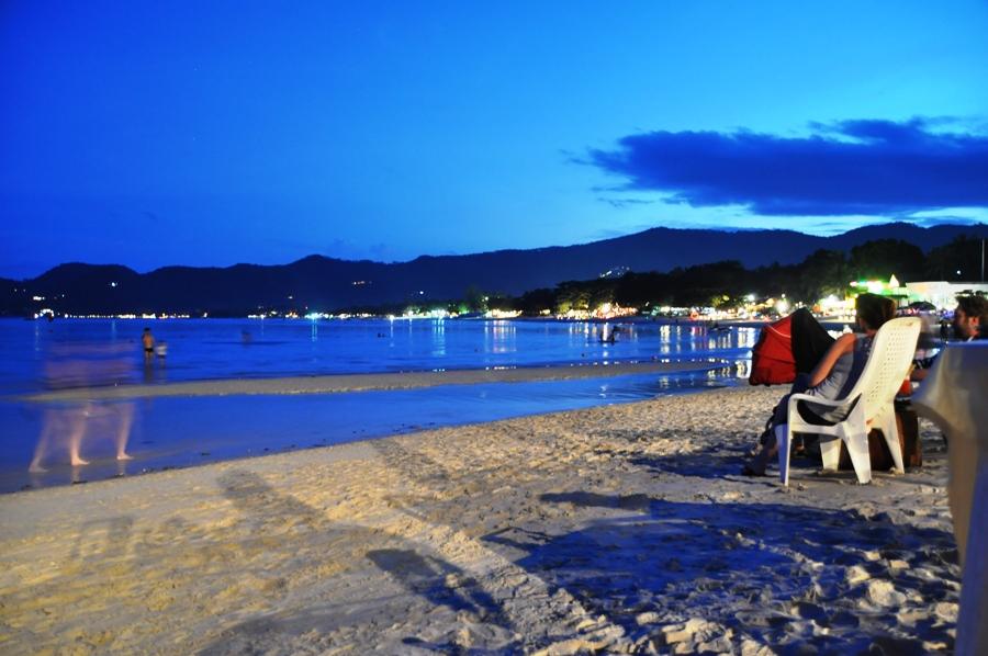 Spiaggia di Chaweng di notte