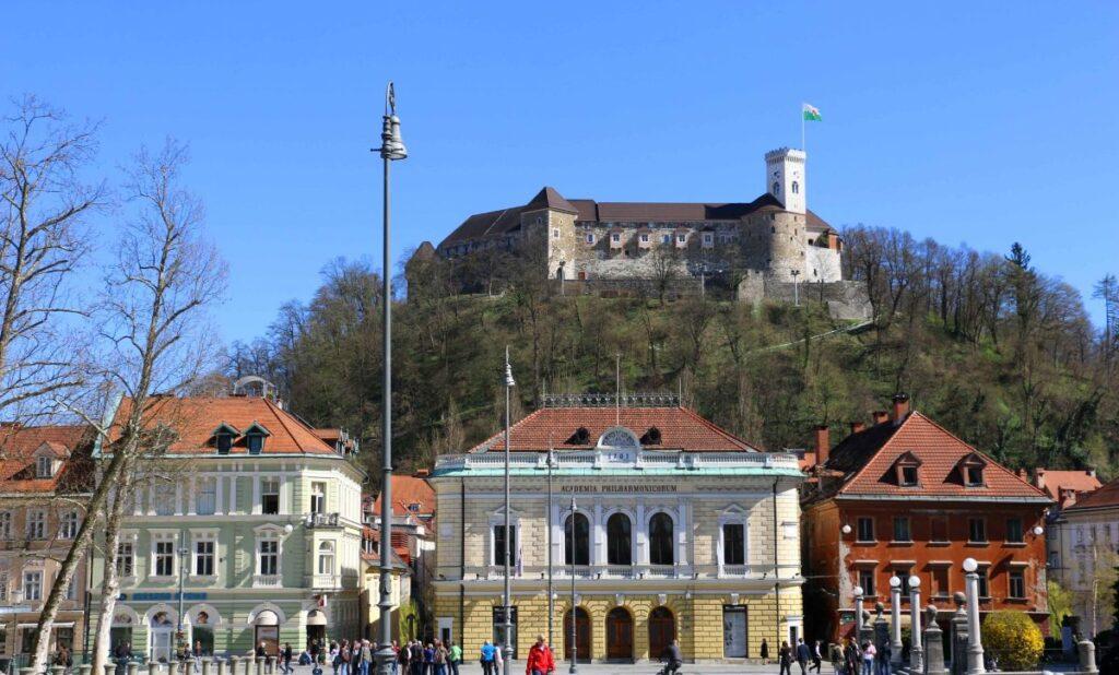 Il Castello di Lubiana