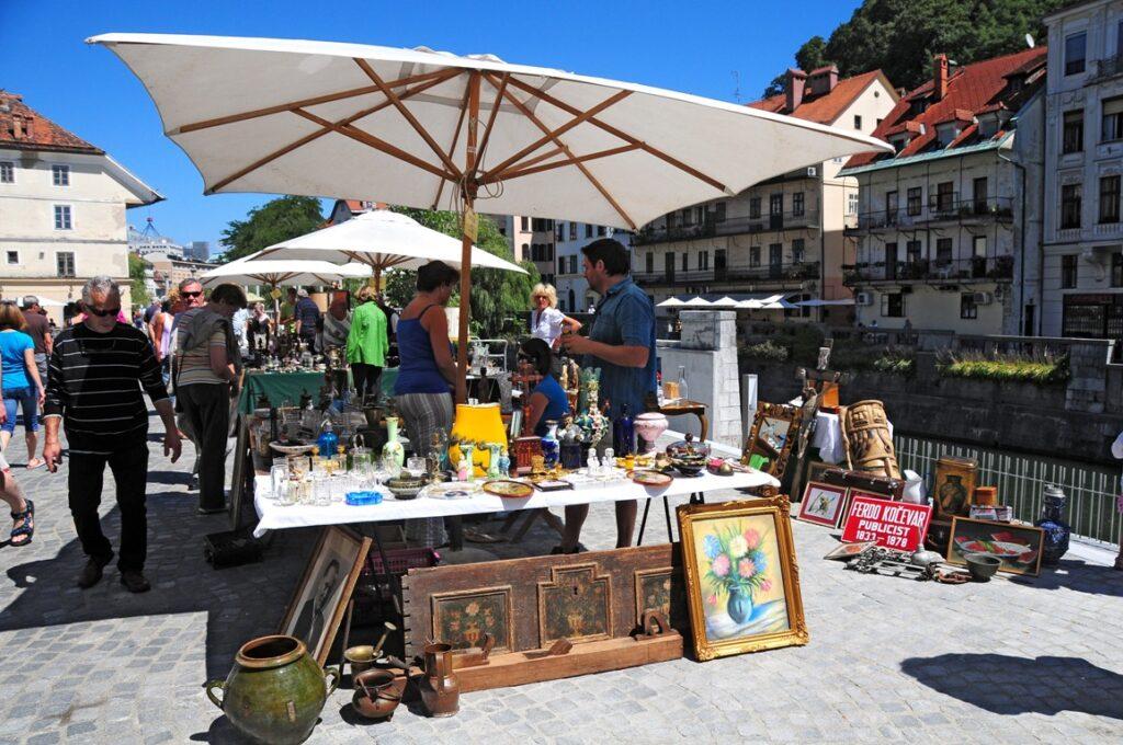 Mercato di Lubiana