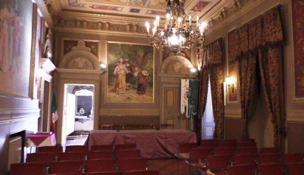 Interno di Palazzo Borrelli