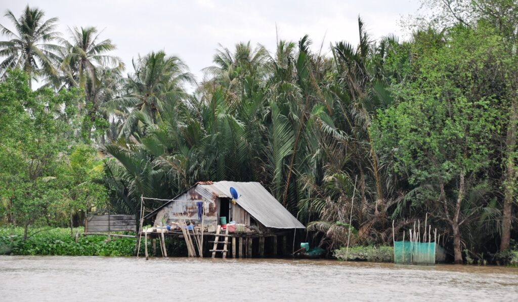 Casa sul fiume