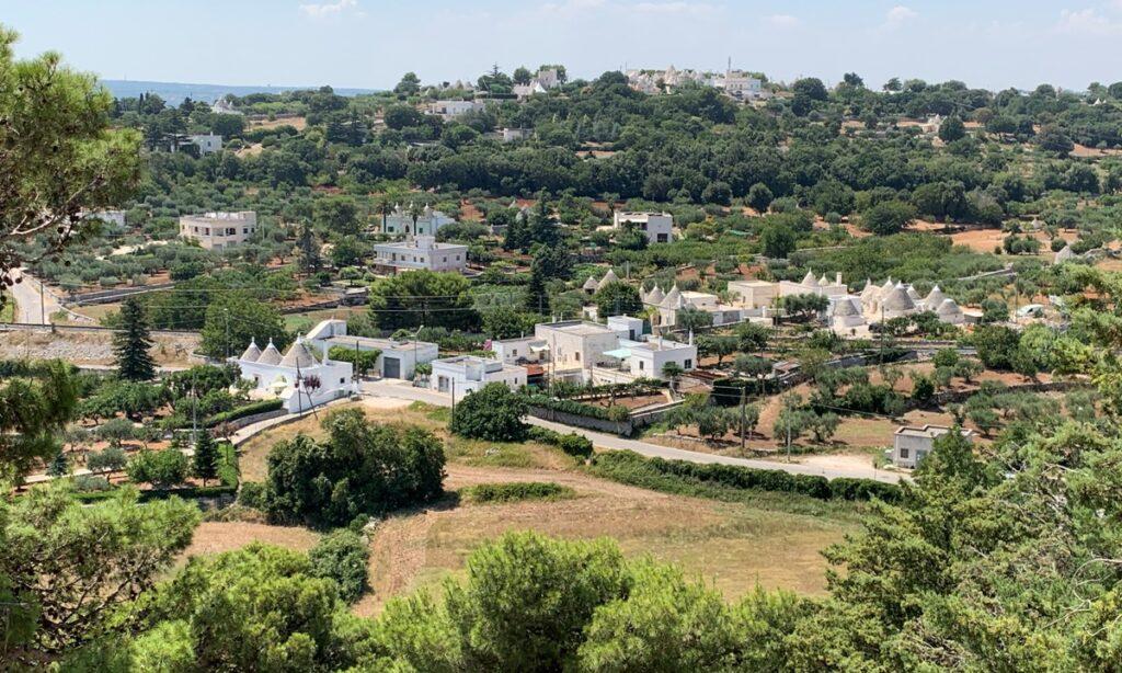 Panorama sulla Valle d'Itria