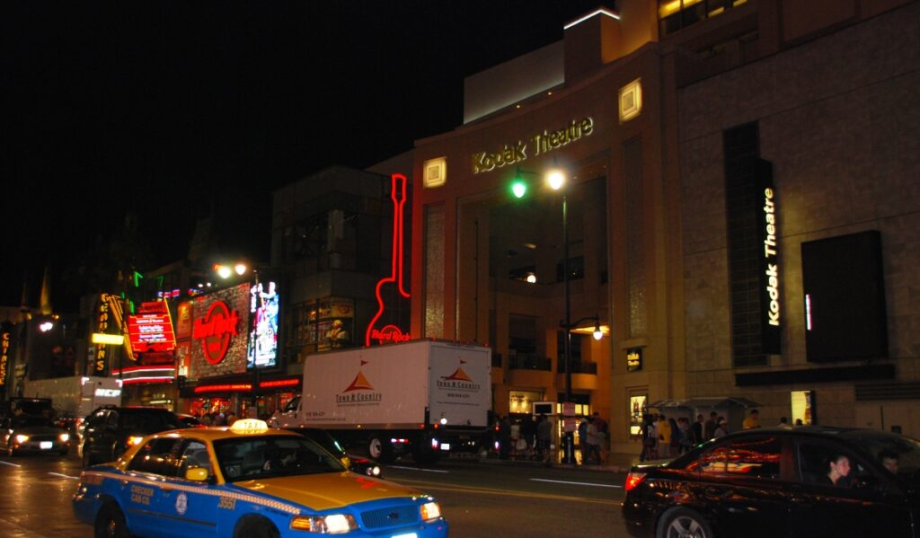 L'Hard Rock Cafè di Hollywood