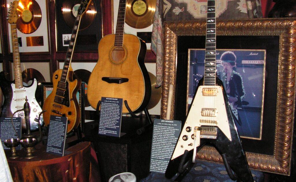 La chitarra di Jimi Hendrix a Londra