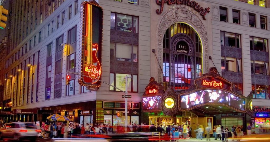 Hard Rock Cafè a New York