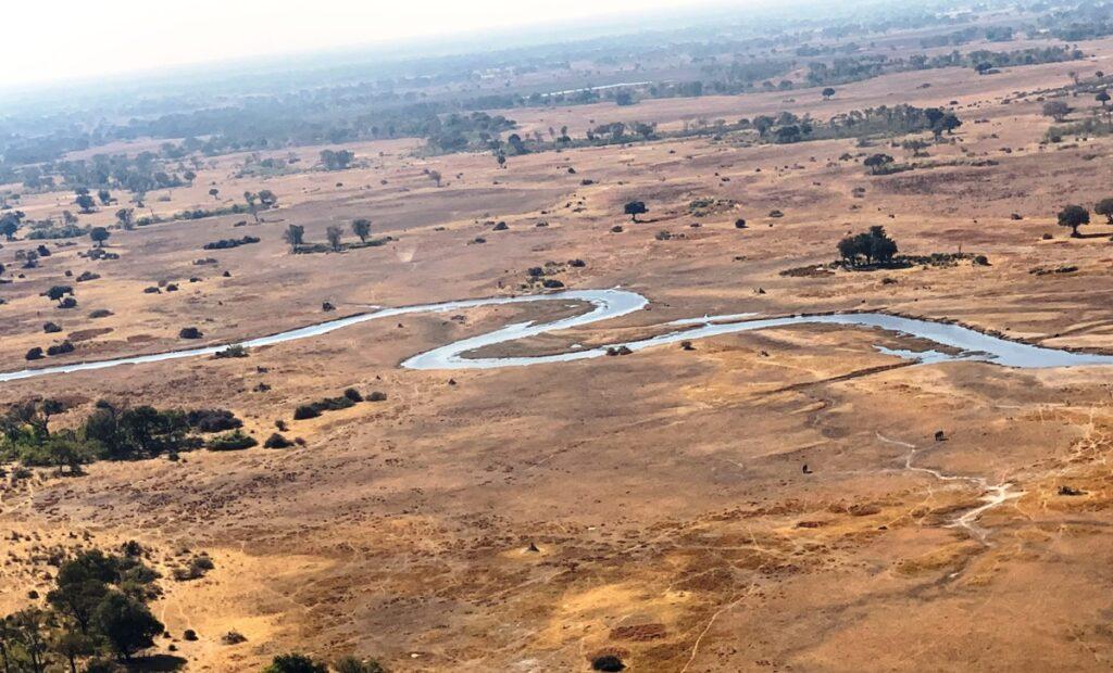 Il fiume Okavango