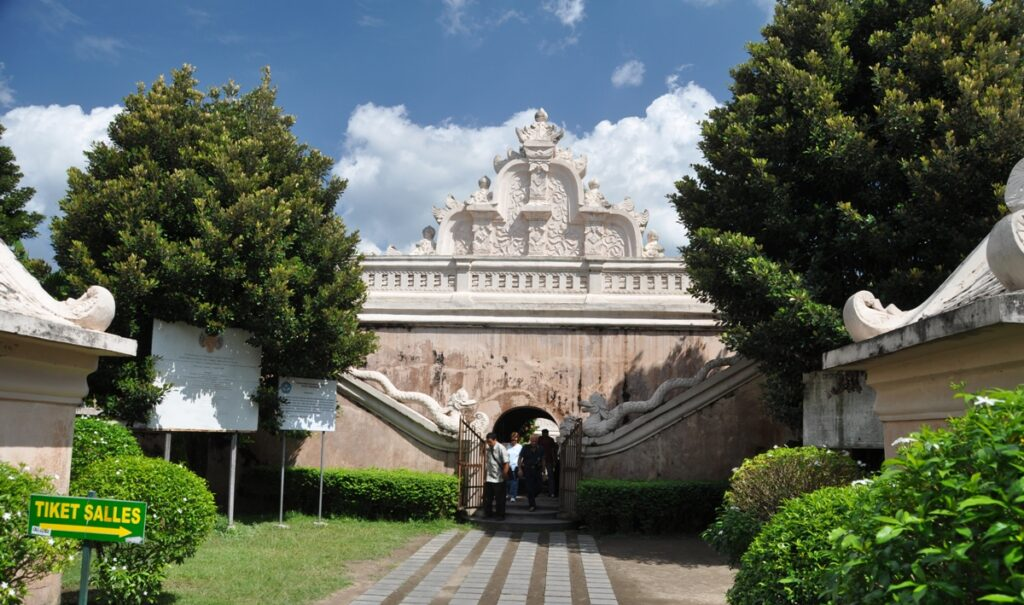Ingresso del Water Palace