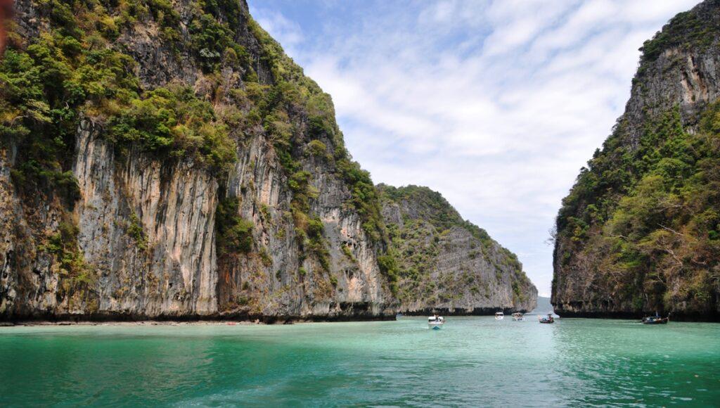 Scogliere nel Mar delle Andamane