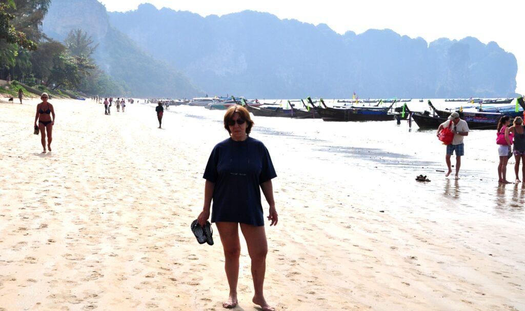 In spiaggia a Krabi