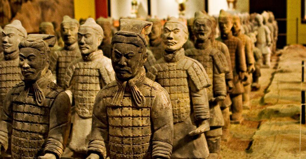 Statue dei guerrieri