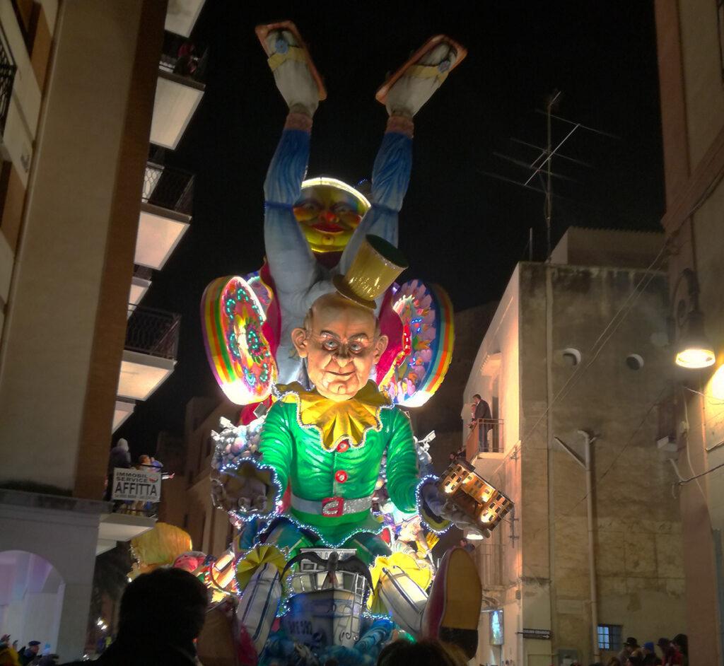 Peppe Nappa al Carnevale di Sciacca