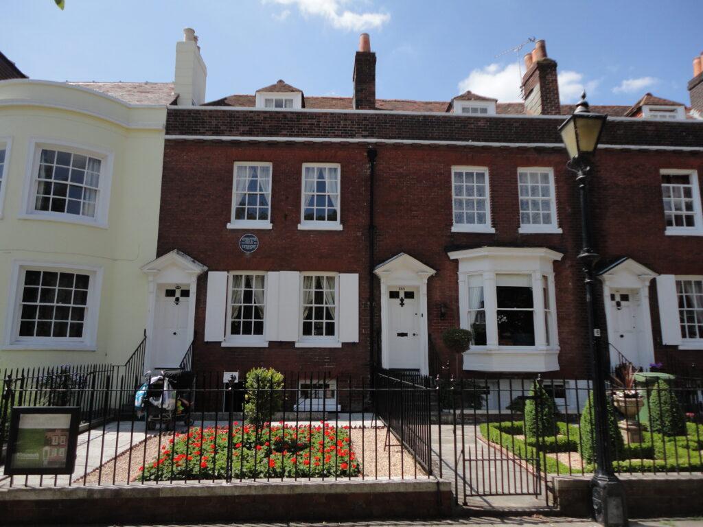 La casa di Dickens a Portsmouth