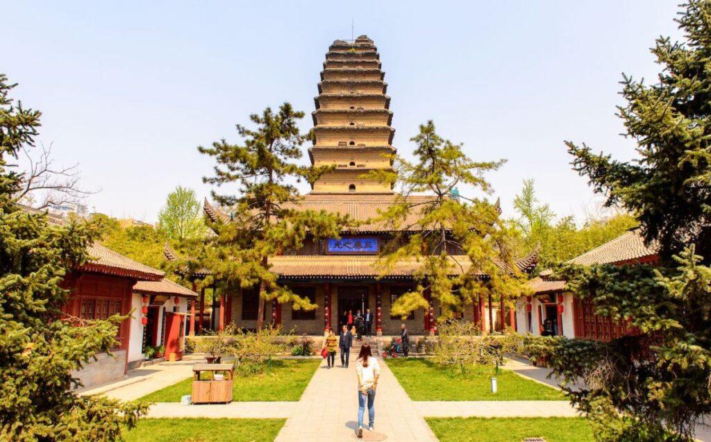 Pagoda della Piccola Oca Selvatica