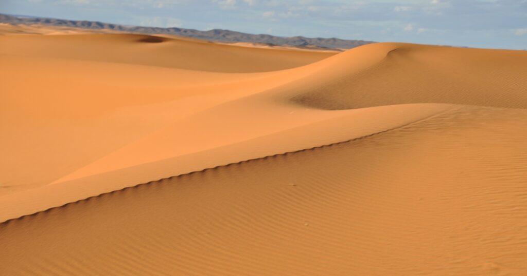Le dune del Deserto di Merzouga