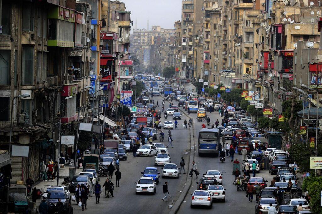 Per le strade del Cairo