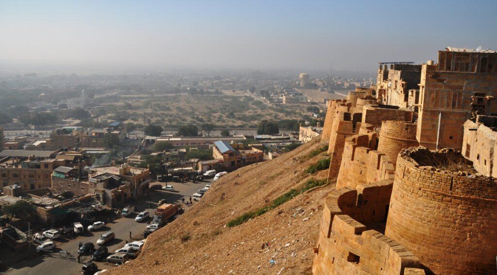 Bastioni del Forte di Jaisalmer