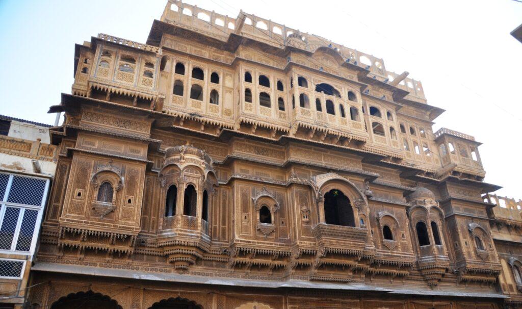 Una delle haveli di Jaisalmer