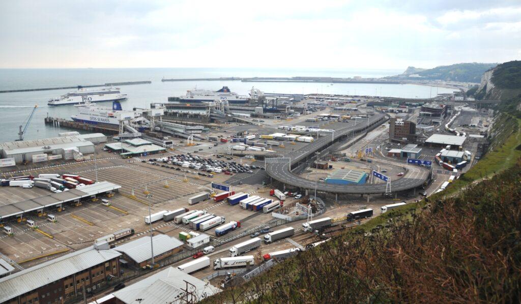 Il porto di Dover