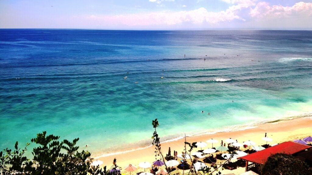 Panorama di Thomas Beach