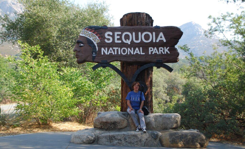 Ingresso al Parco Nazionale delle Sequoie