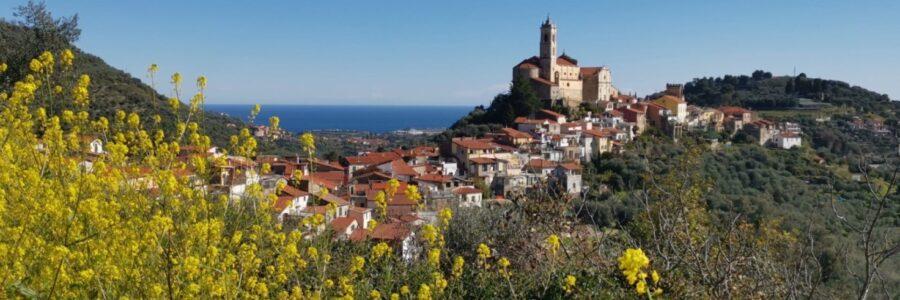 Borgo di Castellaro in Liguria