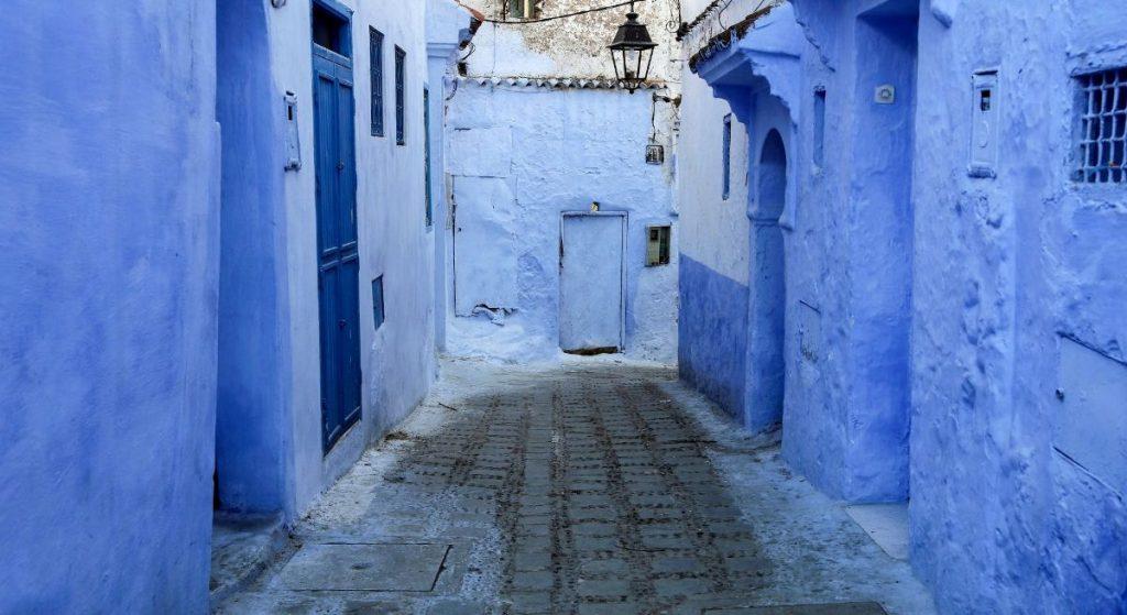 La città blu di Chefchaouen