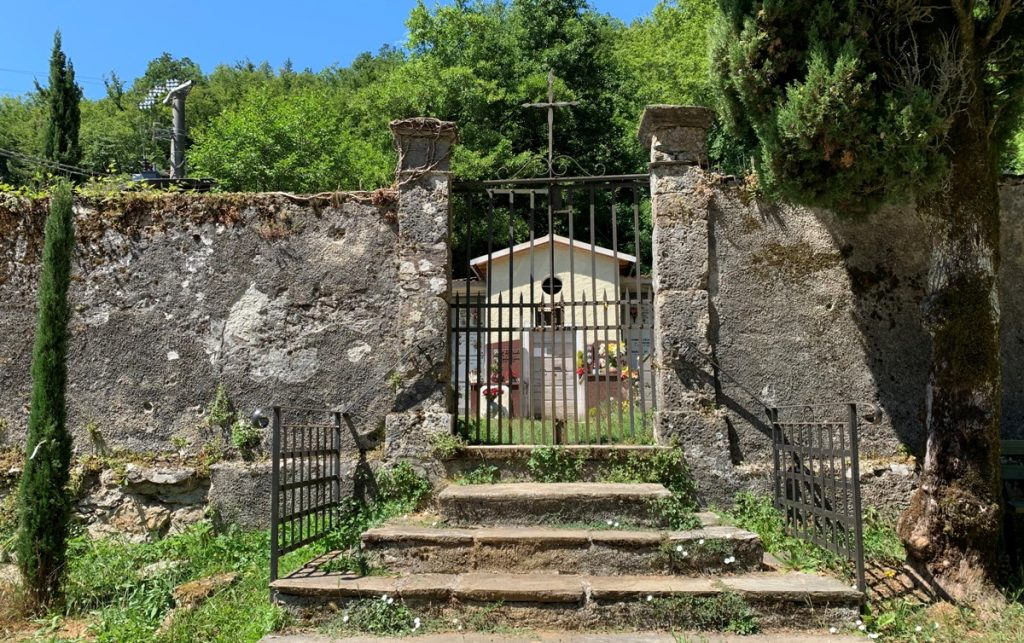 Il cimitero di Sant'anna di Stazzema