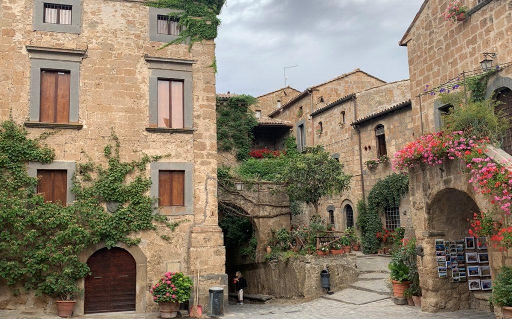 I palazzi di Civita di Bagnoregio