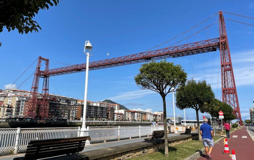 Puente Bizkaia o Colgante